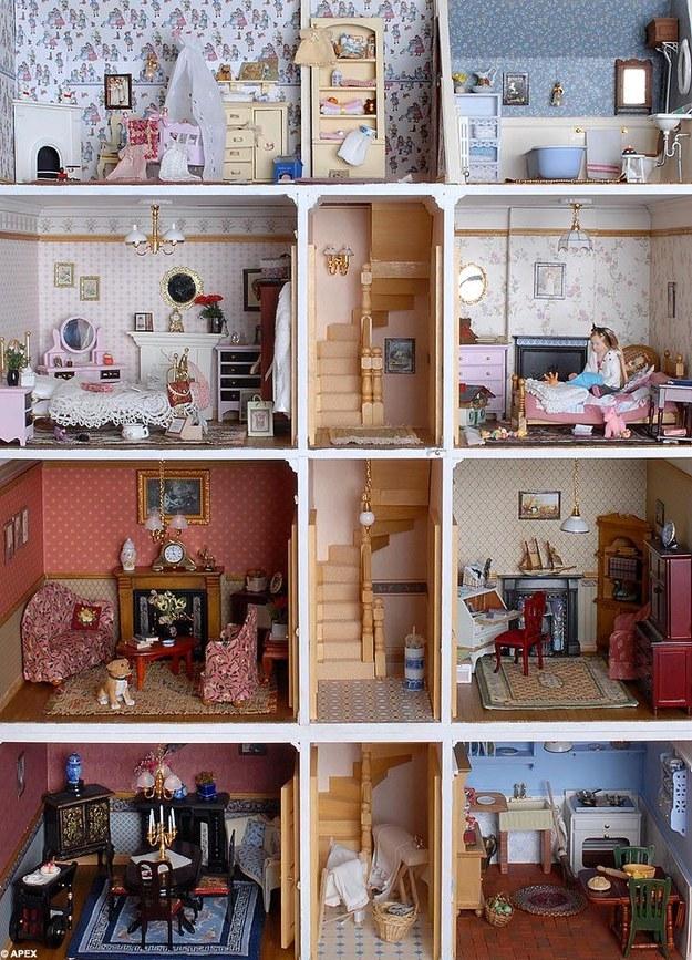 Case delle bambole alcune tra le più belle ed originali