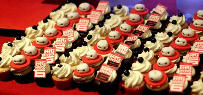 Cupcakes ispirati alle opere della DreamWorks e Walt Disney Pictures